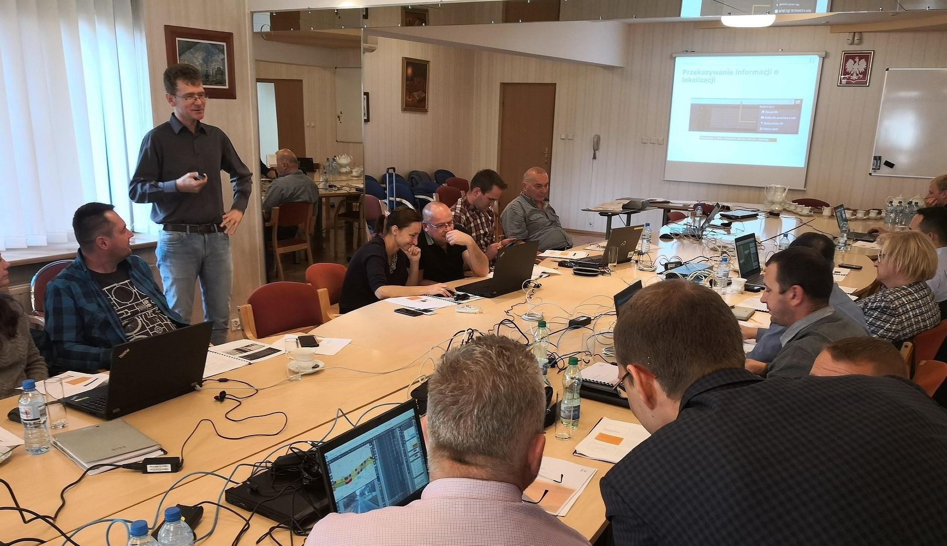 Szkolenie z systemu OnKo3 dla GDDKiA w Katowicach