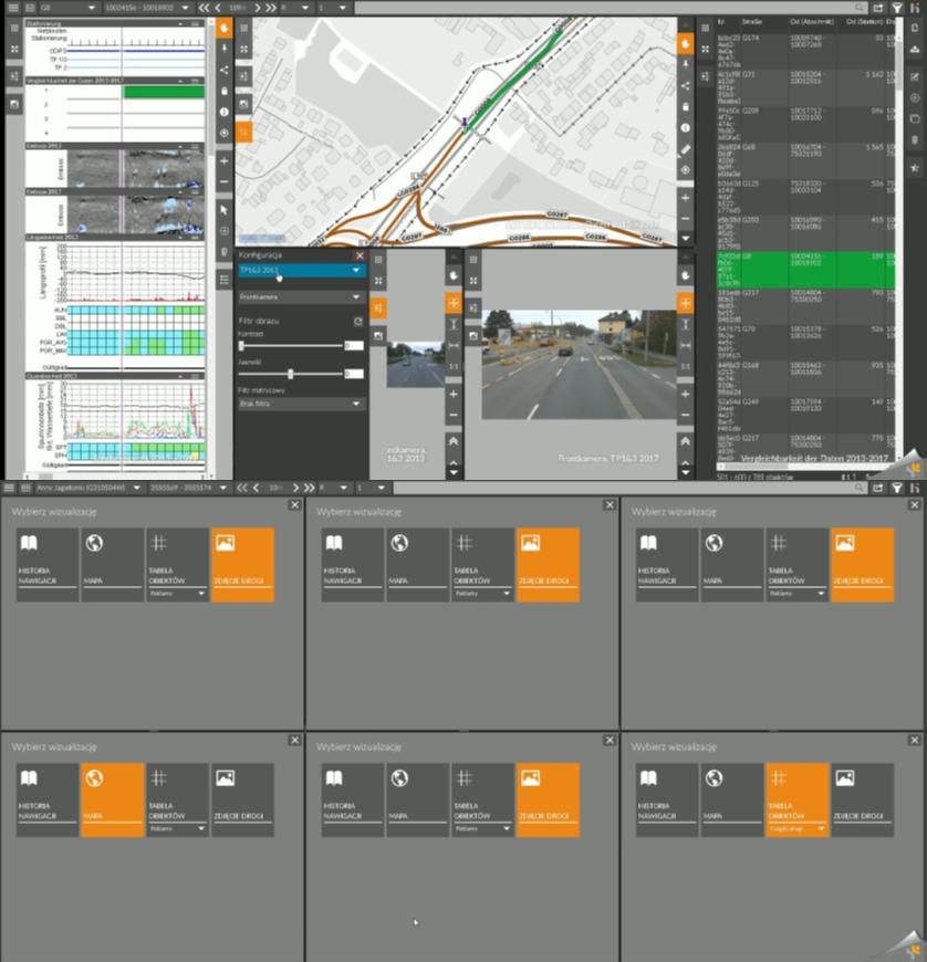 System udostępniania danych drogowych OnKo3