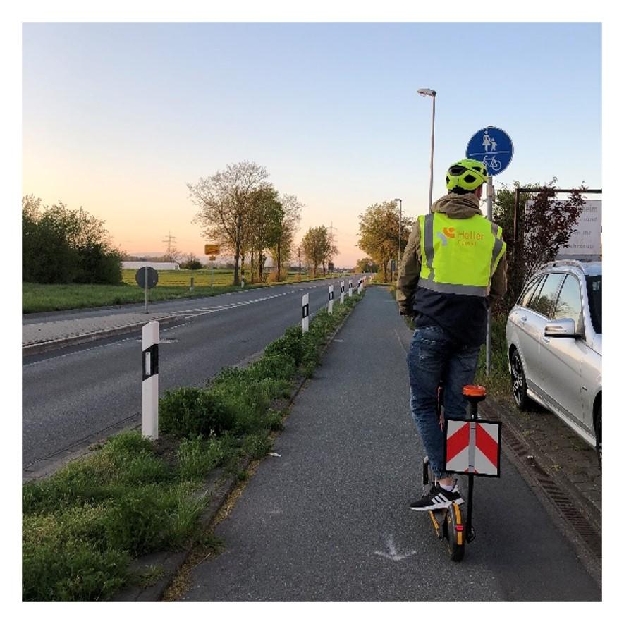 Identyfikacja stanu nawierzchni dróg, chodników i ścieżek rowerowych w Groß-Gerau